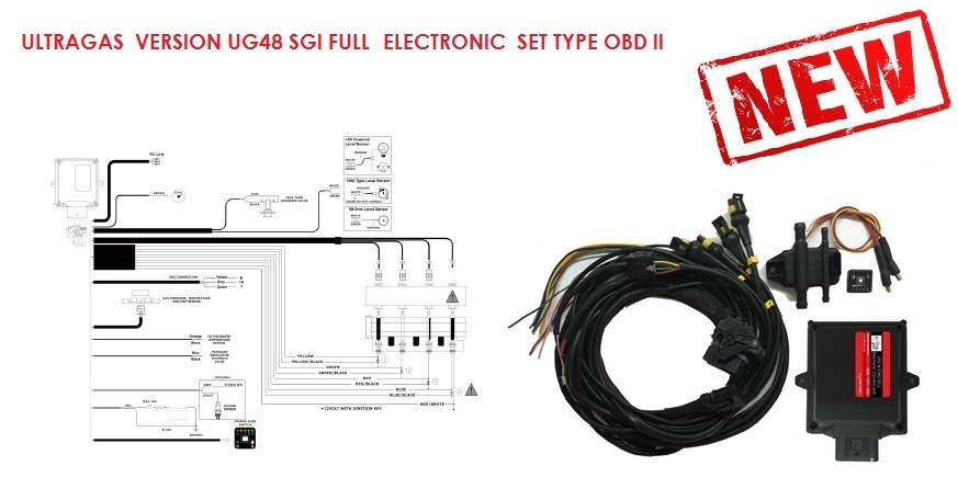UG48 SGI FULL ELECTRONIC SET TYPE OBDII